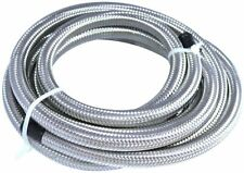 Lokocar Fuel Line Hose Braided Stainless Steel Oil Gas An6 6an Cpe 10ft Silver