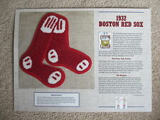 1932 Boston Red Sox ~ Cooperstown Collection Baseball Team Patch Willabee Ward