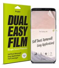 Samsung Galaxy S8/S8 Plus Screen Protector Ringke Dual Easy Full Cover Film 2PK