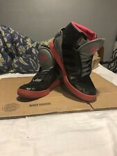 Adidas AR 3.0 Grey Pink Black High Tops Athletic Shoes Size 9.5