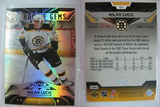 2007-08 Black Diamond #164 Milan Lucic 1/1 RC platinum 1 of 1 Rookie Bruins