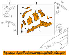 FORD OEM 15-17 Mustang FENDER-Apron/Rail Assembly Right FR3Z16054A
