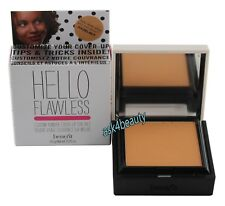 Benefit Hello Flawless Powder Cover up Foundation (Hazelnut) New In Box
