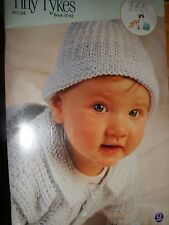 KNIT & CROCHET PATTERN BOOK FOR BABY TINY TIKES