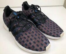 ADIDAS / SL LOOP Rare Art - Purple/Blue/Black Metallic Sheen Mens 9.5 Sneakers