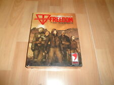 FREEDOM FIRST RESISTANCE ANNE McCAFFREY'S FOR PC NEW FACTORY SEALED IN BIG CASE