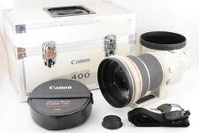 【MINT】CANON EF 400mm F/2.8 L II USM +400 Lens Trunk Case / Hood / STRAP From JP