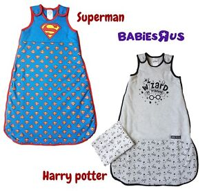 Baby Sleeping Bag Growbag Girls Boys 1.5 TOG Sleep Safety Blanket RRP £24 0-6mth
