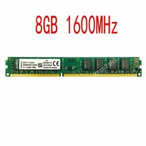 8GB DDR3 1600MHz PC3-12800 KVR16N11/8 Desktop DIMM 240Pin Memory PC Ram Kingston