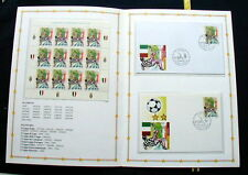 2002 Italy soccer football JUVENTUS official folder stamps postcard cover FDC