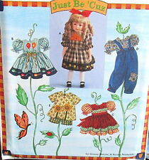 """Doll Dress pattern romper overalls 18"""" shorts tunic top S7490"""