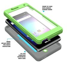 POETIC Revolution Dust Resistant Case Cover for BLU R1 HD (2016) Green NEW