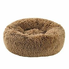 Small Dog Puppy Bed Washable Calm Dog Bed Comforting, Anti-Anxiety, Fluffy deep
