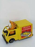 Cult 80's Tv Cartoon Charcater Garfield Lasagne Van Vehicle DieCast by ERTL toys