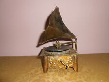 Vintage Record Player Music box Love Story