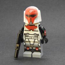 Custom Star Wars Mandalorian Imperial Gar Saxon v2 minifigures on lego bricks
