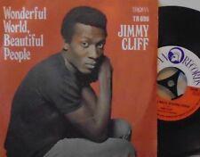 """JIMMY CLIFF - Wonderful World Beautiful People - 7"""" Single PS"""