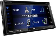 "NEW!! JVC KW-V350BT Double DIN Bluetooth In-Dash CD/AM/FM/DVD 6.2"" Touchscreen"
