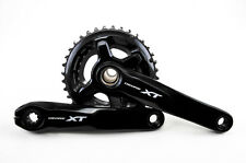 NEW - Shimano XT M8000 Black 11 Speed Double 26/36 Crankset 175mm