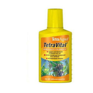 Vitamins Tetra Vital 100ml Favours The Vitality And Wellbeing of The Fish