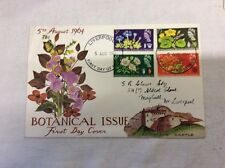 2 x First Day Covers Botanical Phosphor & Botanical Plain 5rh August 1964.