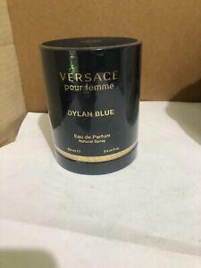 100% Authentic Versace Dylan Blue Pour Femme Eau de Parfum 3.4 FL Oz Women