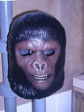 "Rare Planet of the Apes  ""Gorilla Soldier"" Sculpted hair Mask  not Don Post"