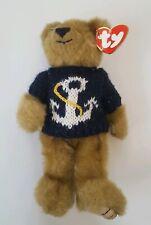 Ty Beanies Bear Attic Treasures Salty The Sailor With Anchor Jumper 1993