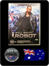 I, Robot - Will Smith, Bridget Moynahan, Bruce Greenwood (DVD, VGC, FAST POST)