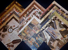 12x12 Scrapbook Paper Vintage Treasures Colorbok 25 Lot Epherma Inspired Collage