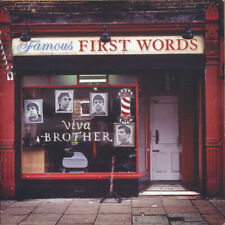 Viva Brother Famous First Words CD cover (AUTOGRAPHED)