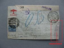 ITALY, censored cover 1941, postage due