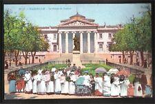 CPA- Marseille - Nounous au jardin du palais de justice COULEUR - carte vierge