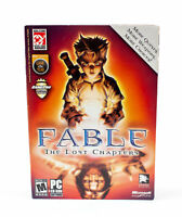 Fable: The Lost Chapters Video Game for PC Windows Computer - 4 Discs