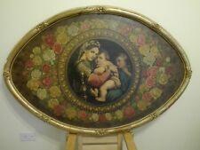 Madonna della Seggiola, copia di fine 800 - olio su tavola 120x80 cm