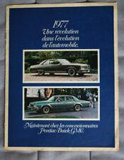 PONTIAC BUICK GMC Full Range 1977 Dealer Brochure - French - Canadian Market
