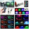 T10 5050 Remote Control Car Led Bulb 6 Smd Multicolor W5w 501 Side Lights Bulbs