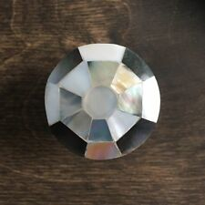 Stunning Pearl Inlay Drawer Knob - Mother of Pearl Cabinet Knobs