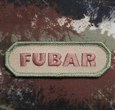 FUBAR TACTICAL ISAF INFIDEL MILITARY ARMY MULTICAM VELCRO® BRAND FASTENER PATCH