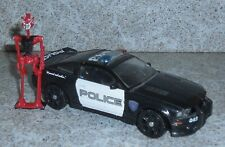 Transformers Movie BARRICADE Complete Movie 2007 Deluxe RED FRENZY