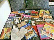 LOT alter Strick- und Häkelanleitungen  Handarbeitszeitungen