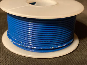 M22759/16-20  20 awg. Stranded Blue Tefzel Ins. Airframe Wire 100 ft. Spool
