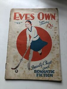 VINTAGE OLD   , EVES  OWN , WOMANS  MAGAZINE Feb 14 1931 VERY RARE ,Hard TO FIND