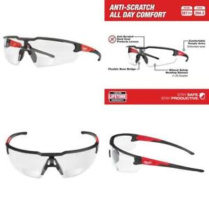 Bifocal Safety Glasses 1.50 Magnified Clear Anti Scratch Lenses