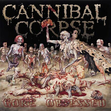 "Cannibal Corpse - Gore Obsessed COLORED 12"" EXHUMED OBITUARY"