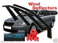 SKODA Superb II  2008 - 2015    4.doors  Wind deflectors 4.pc  HEKO  28332