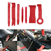 7pcs Car Auto Body Moulding Door Panel Trim Clip Removal Pry Tool Remover Kit