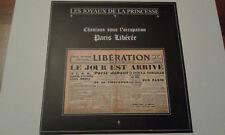 """Les Joyaux De La Princesse – Paris Libérée -Clear vinyl 7"""" Ltd 15(Death in June)"""