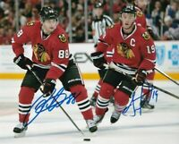 PATRICK KANE / JONATHAN TOEWS Autographed Signed 8x10 Photo Blackhawks REPRINT