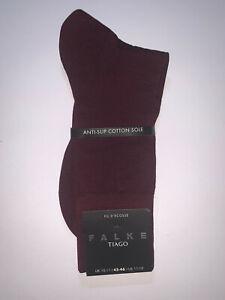 Falke Tiago Fil D'ecosse Barolo Socks Size 10-11